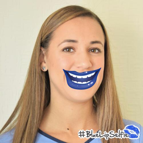 Hananh - Blue Lip Selfie.png