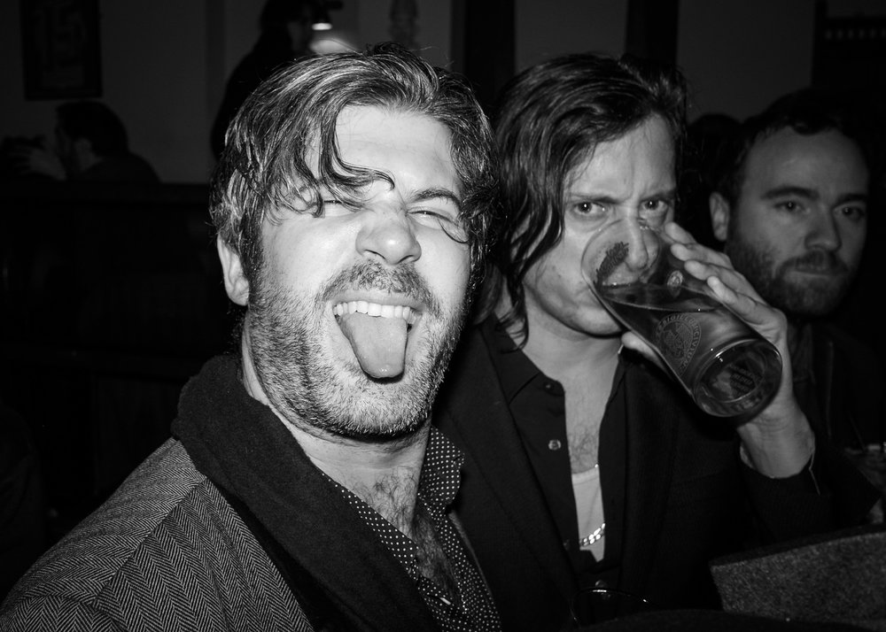 Fun after putting on a great night for @theflyingseagull - @edharcourt