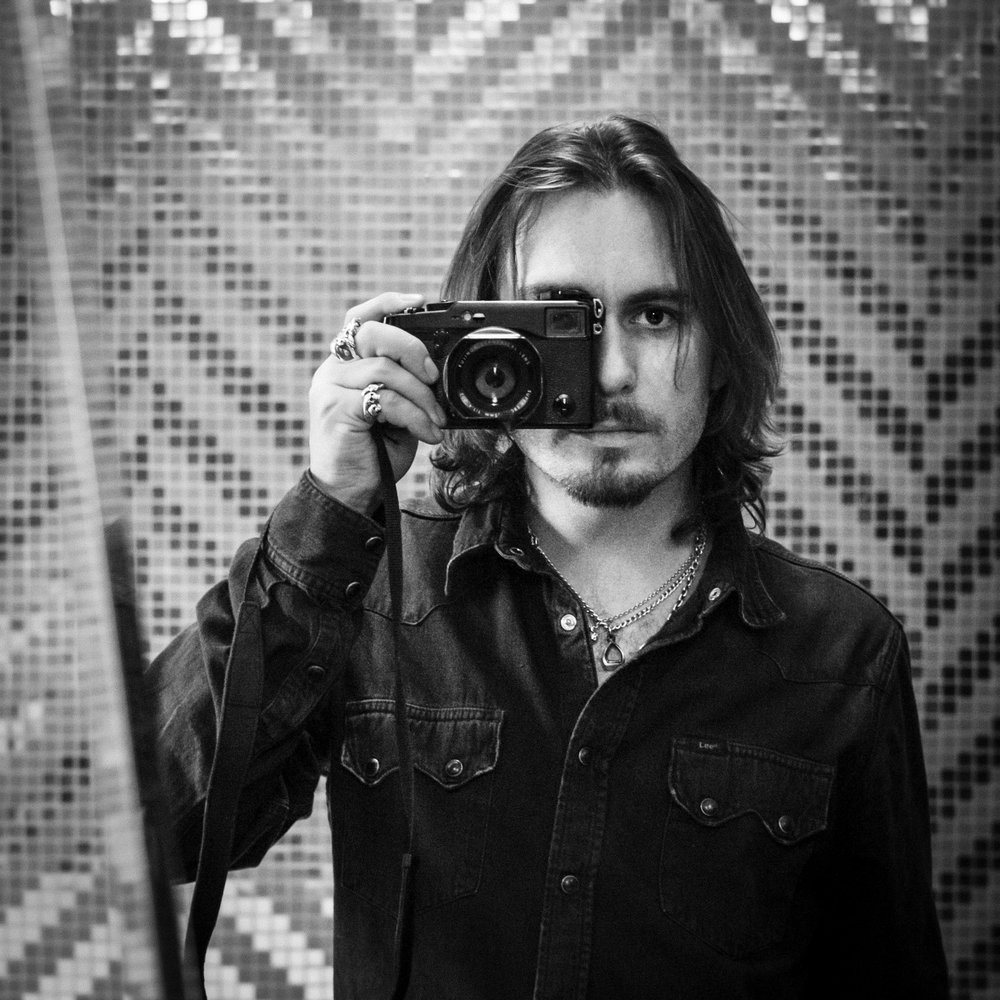 Self portrait with the  Fujifilm X-Pro1