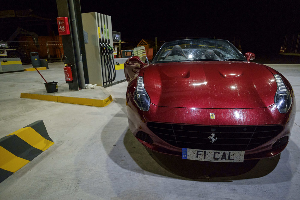 Ferrari to Italy and back