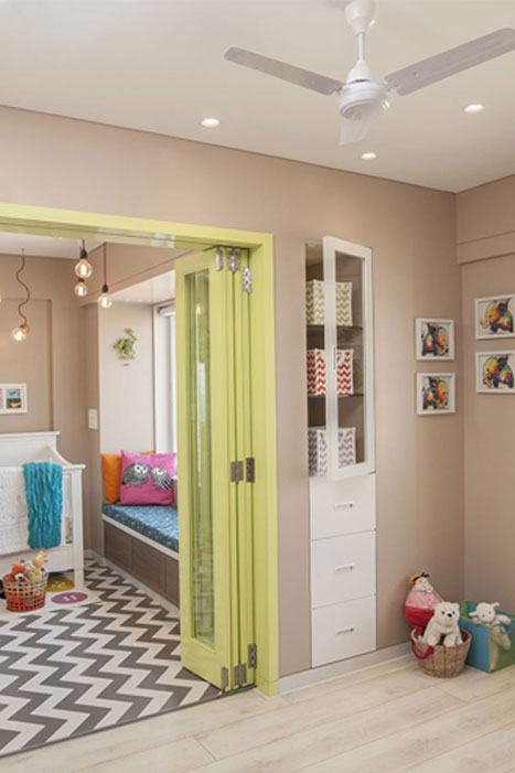 PLAYROOM + BEDROOM