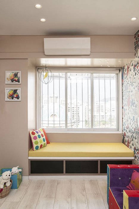 PLAYROOM WINDOW BENCH