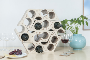 'Say Cheese,' Modular Wine Rack
