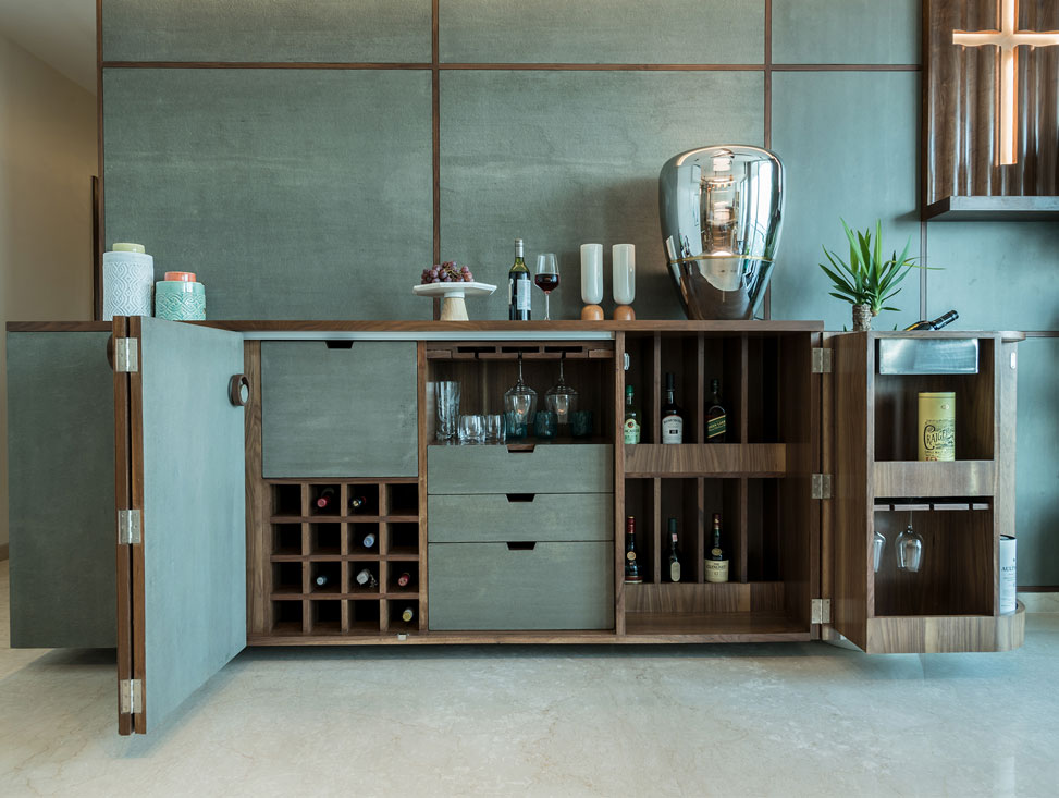 DINING AND BAR UNIT DETAIL