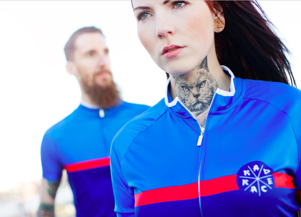 RAD RACE Blue Cycling Jersey