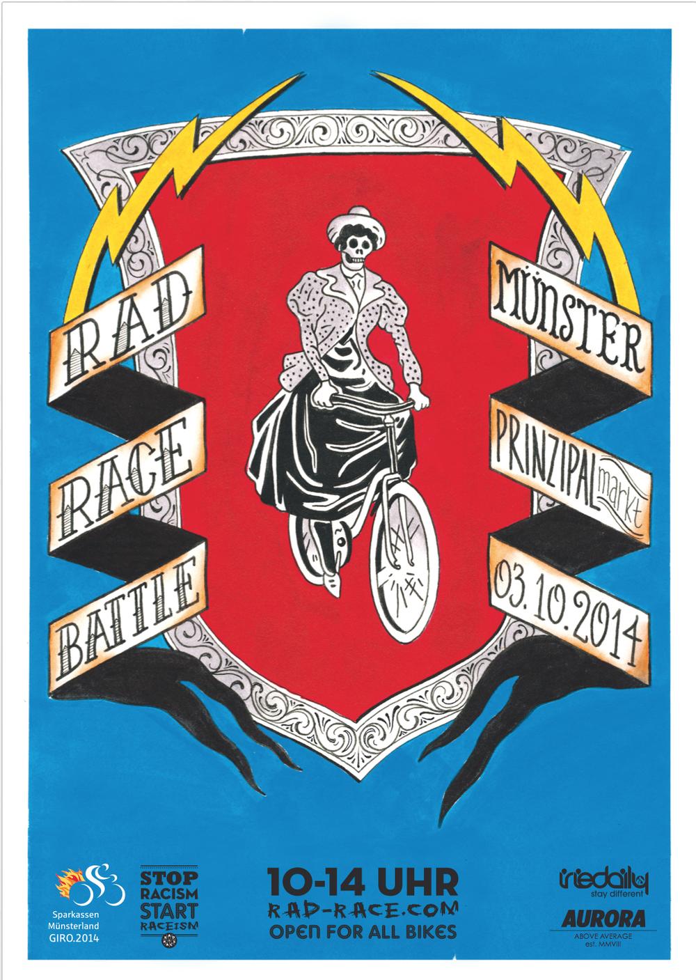 The official Poster hand drawn by Till Pulpanek //https://www.facebook.com/pages/Till-Pulpanek/429935717057099