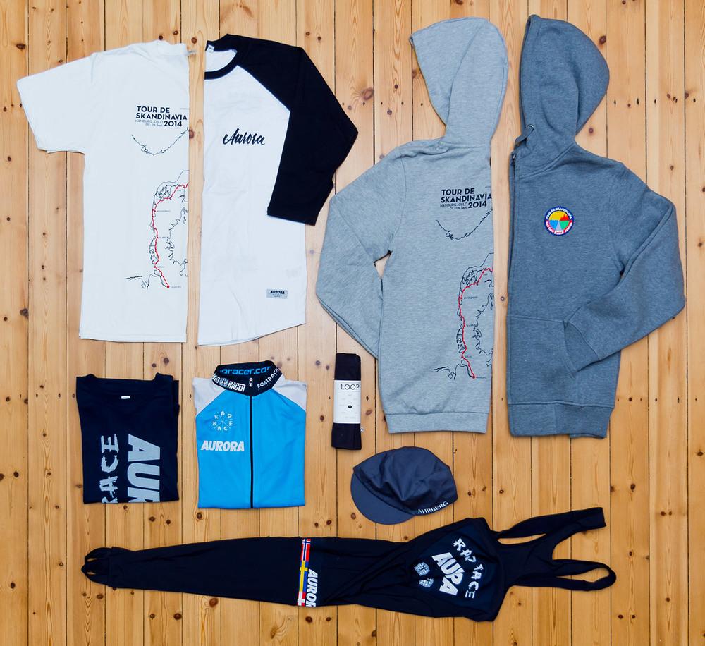 The amazing AURORA Tour de Skandinavia Crew Collection. Just 16 made...