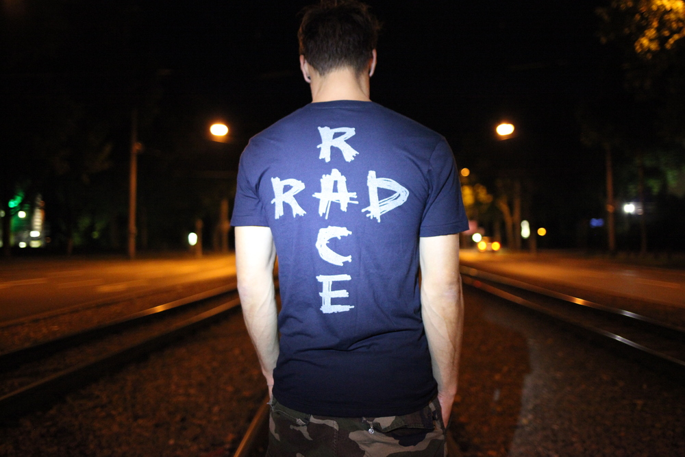 RAD RACE Black Reflective Shirt