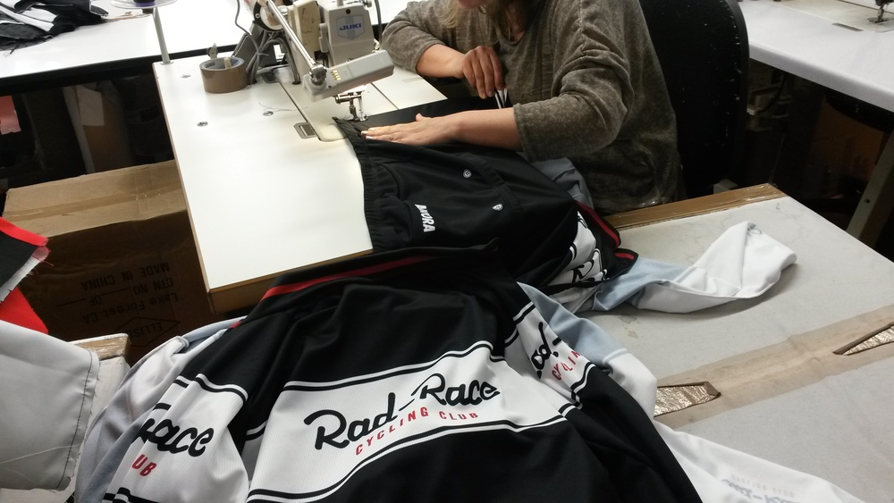 Handmade RAD RACE Cycling Jersey - Made by Cinelli in Italy