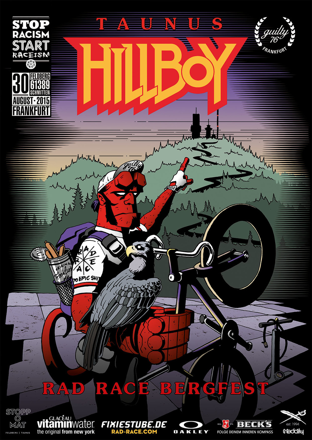 RAD RACE Bergfest Hillboy 2015
