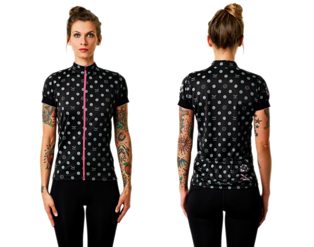 New RAD RACE x IRIEDAILY Women's cycling jersey