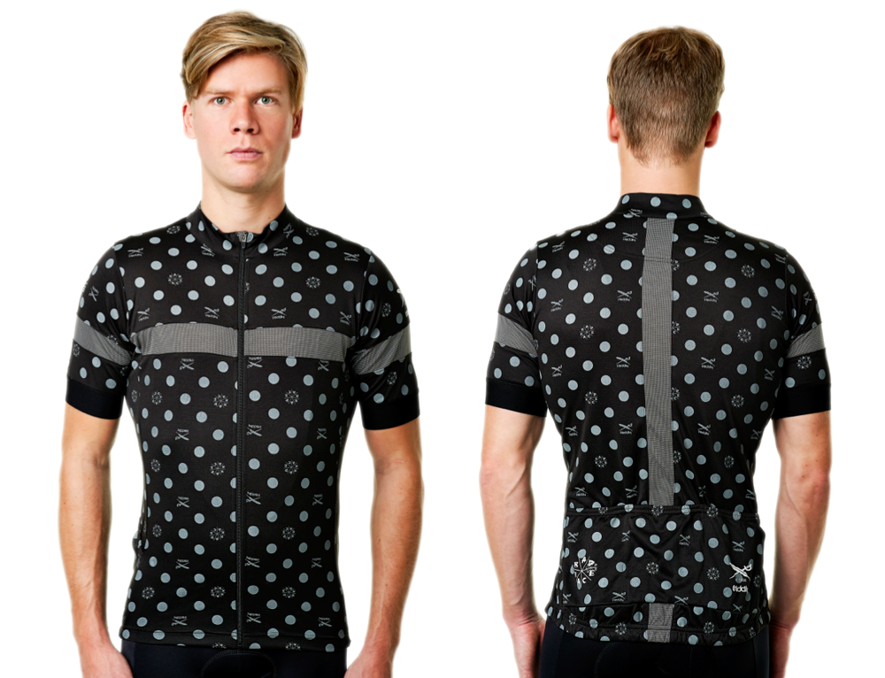 New RAD RACE x IRIEDAILY Men's cycling jersey
