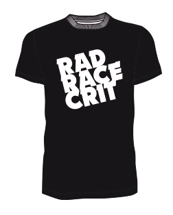 The official rad race crit shirt