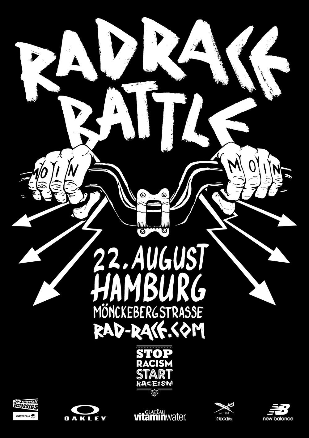 Das offizielle Poster gibts for free für alle fahrer und als shirt mit starter kit 2.