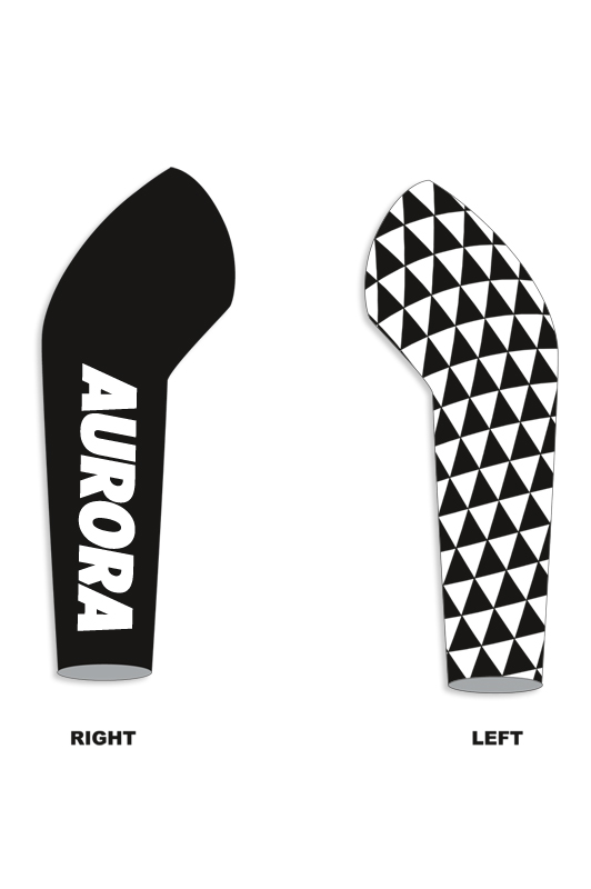 RAD RACE x AURORA Farewell Cycling Armwarmers