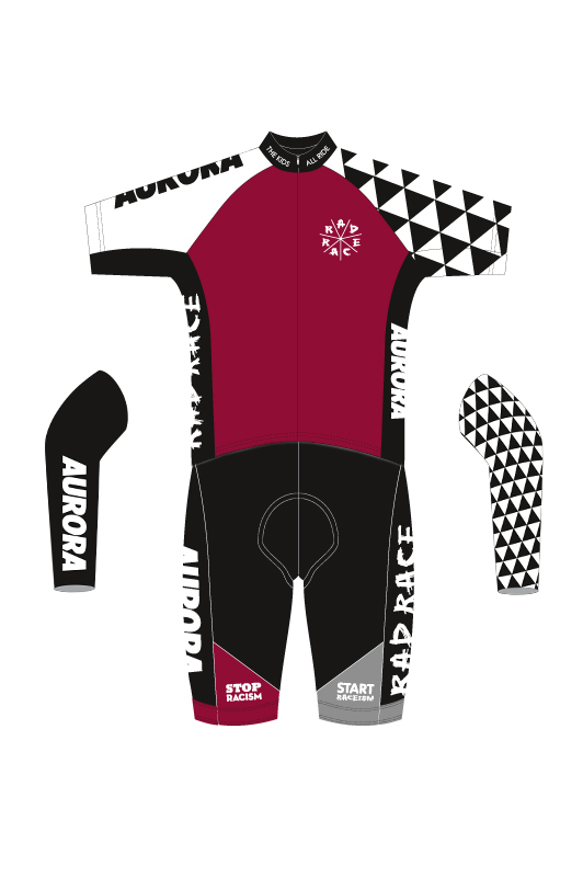 RAD RACE x AURORA Complete  Cycling Kit