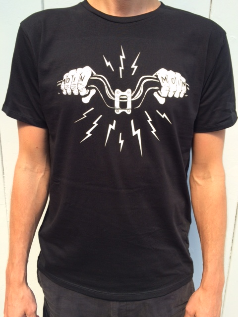 """""""MOin moin"""" Shirt design by menso von ehrenstein."""