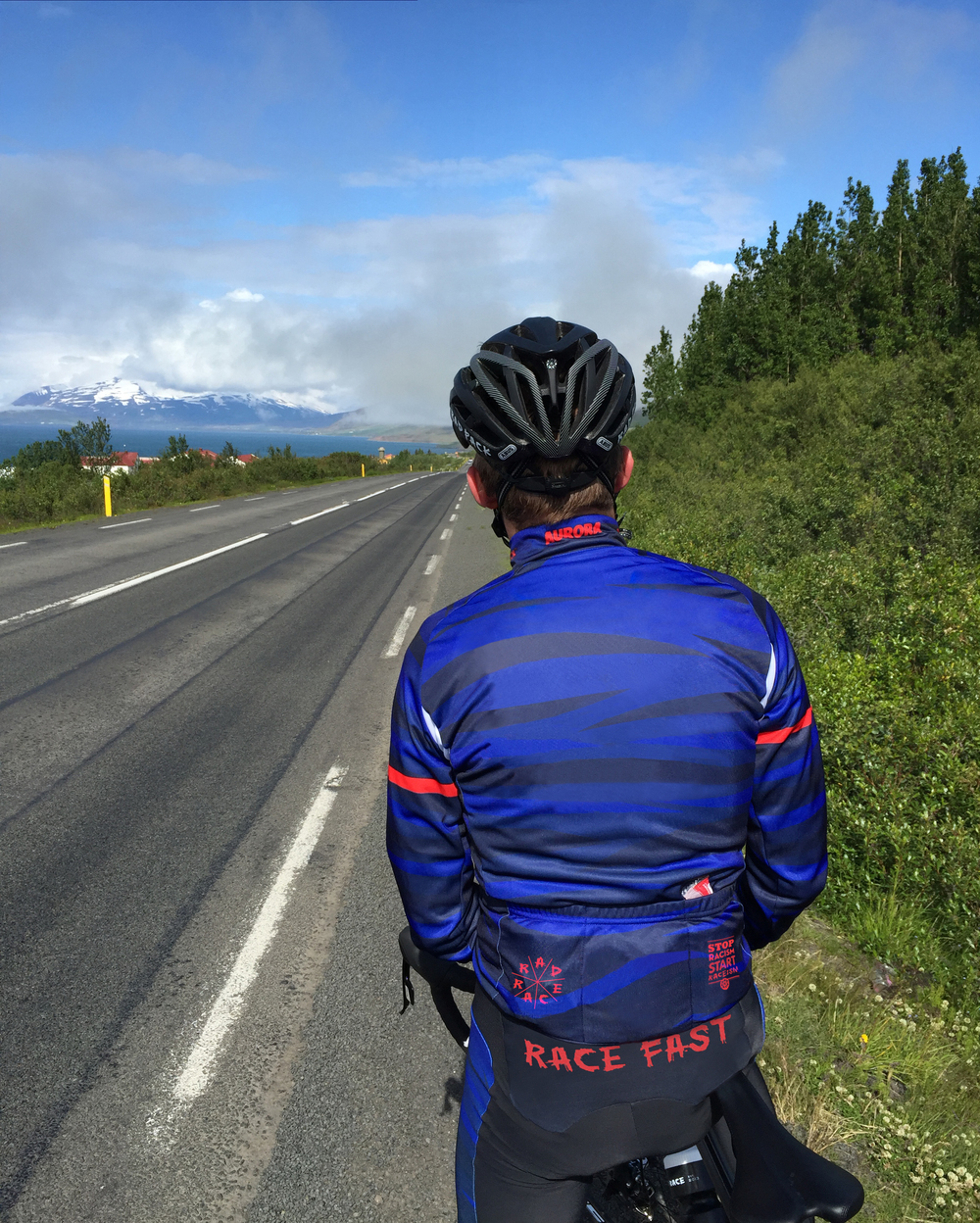 Available now: Rad Race Iceland Camo Longsleeve Jersey