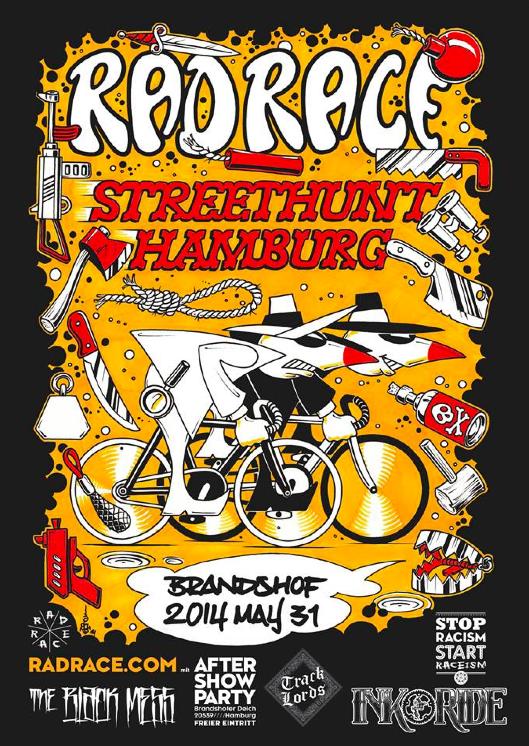 RAD RACE STREETHUNT HAMBURG 31.05.2014