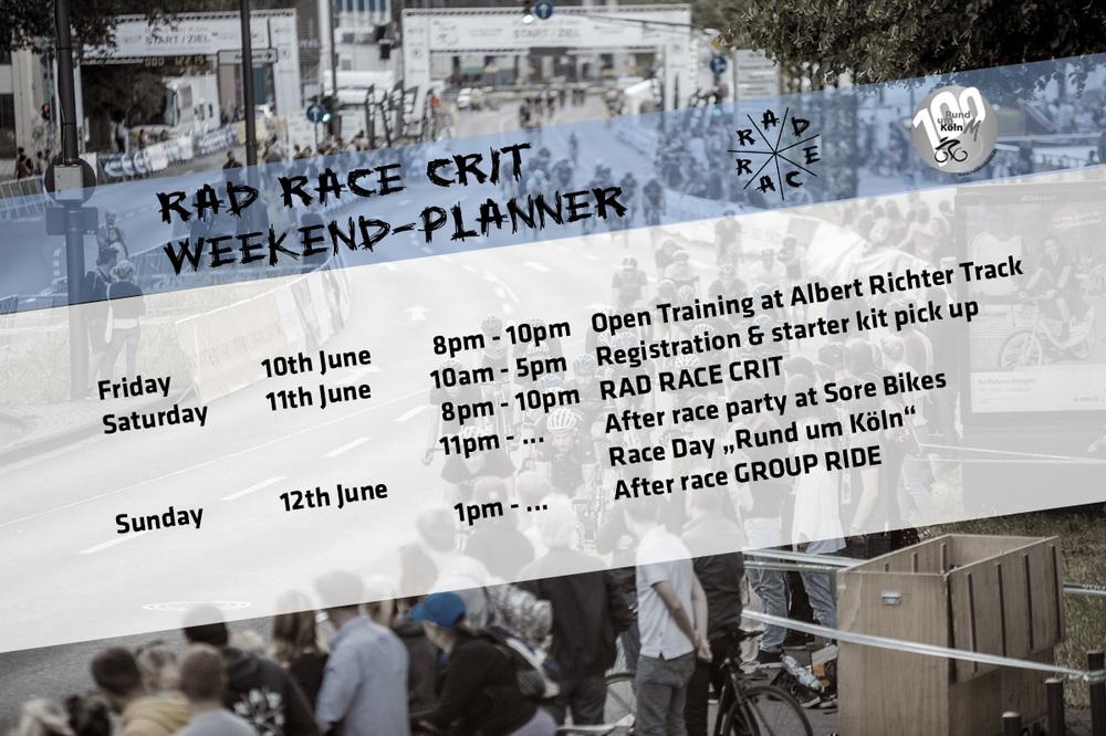weekend_planner RAD RACE