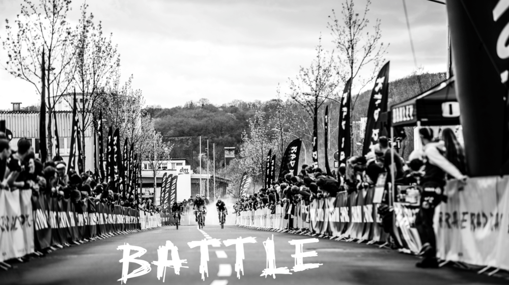 RAD RACE BATTLE in the official program of the Canyon Pure Cycling Festival