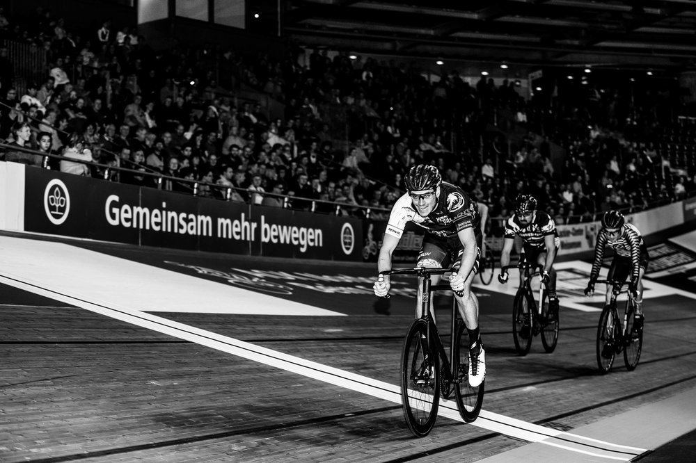 RAD RACE Last Man standing, Berlin JANUARY 20&21. IN THE OFFICIAL PROGRAM OF SIX DAY BERLIN.