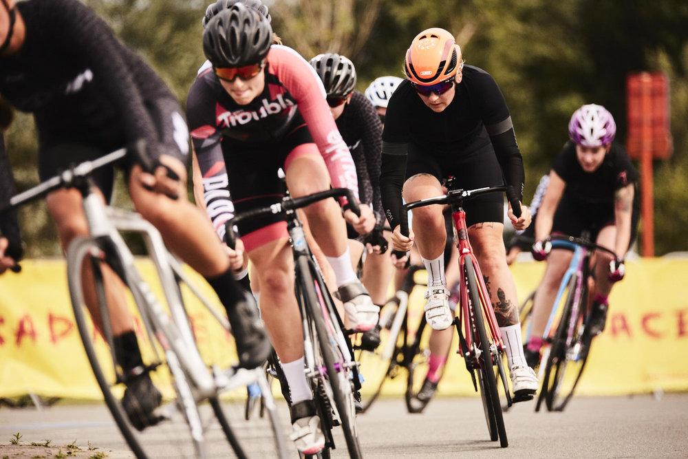women race - Pic by Carlos Fernandez laser