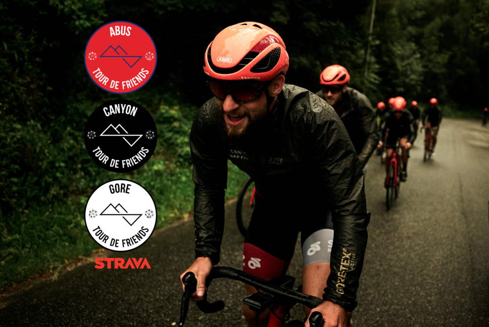 "STRAVA x RAD RACE ""Tour de Friends"" KOM"