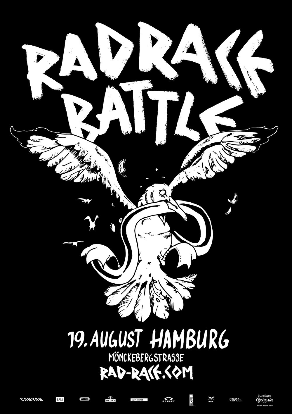 RAD RACE Battle Hamburg poster