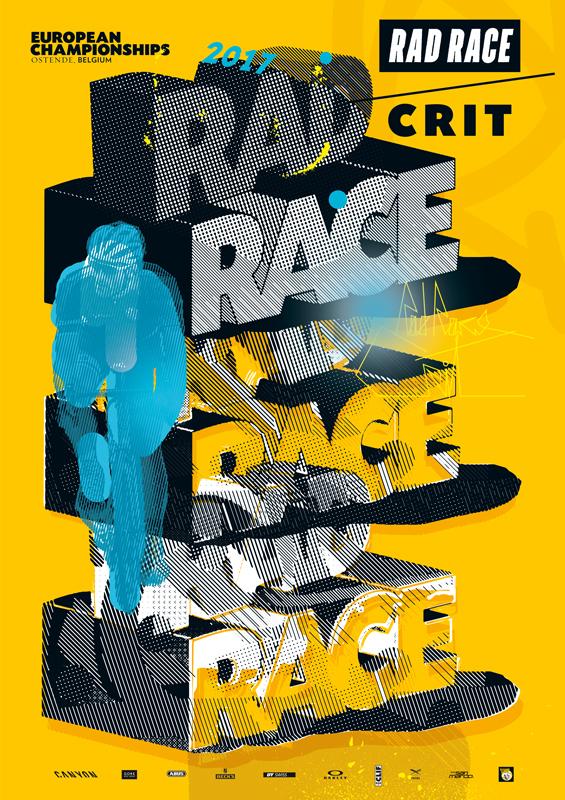 RAD RACE Crit Ostende Poster