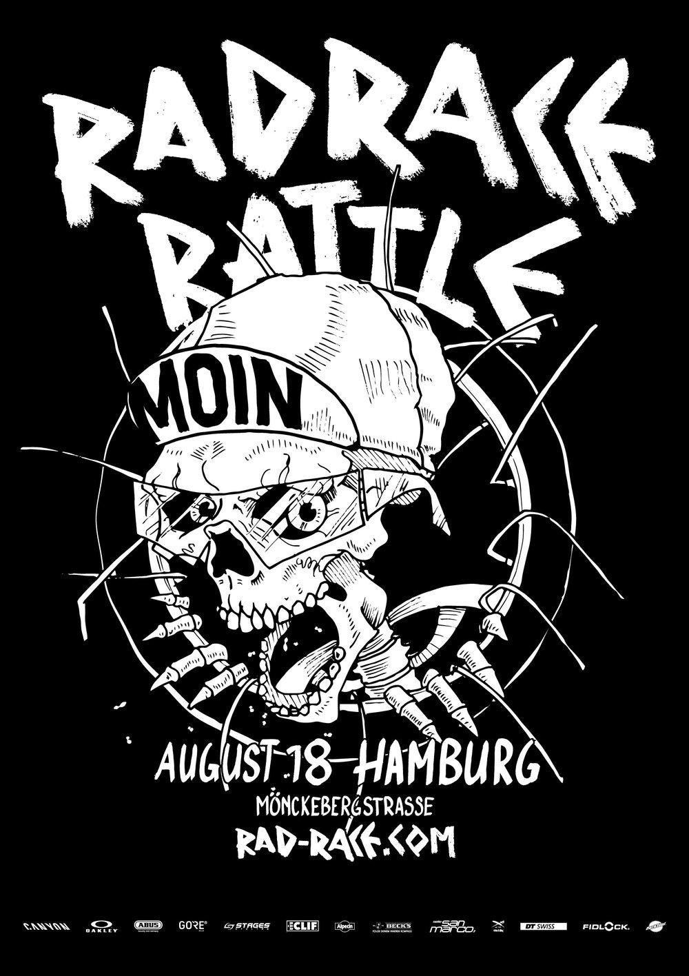The official poster by Menso von Ehrenstein.