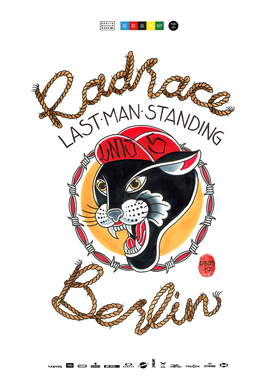 RAD RACE LAST MAN STANDING BERLIN 24.03.2018