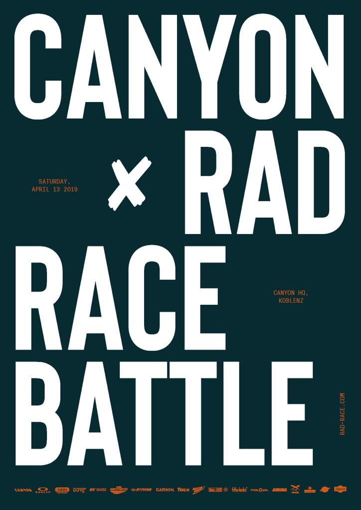 RAD RACE x CANYON BATTLE 2019