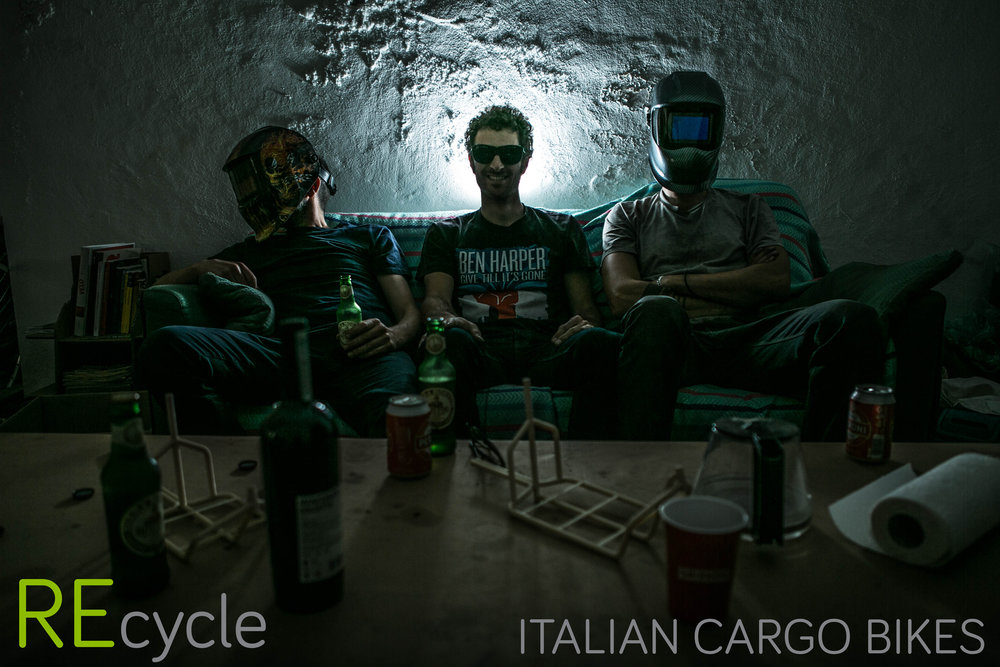 OFFICINE RECYCLE - ITALIAN CARGO BIKE