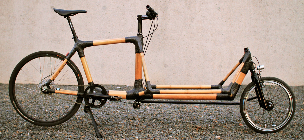 OZON CYCLREY - MAKING BAMBOO BIKES