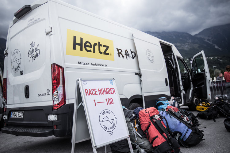 - We will pick up your bike box or bike bag during the registration on July 7th right before the briefing. This is the only chance for the pick up so make sure to be there. All bike boxes will be transported safe and sound from Augsburg to our final destination in Feltre. Keep in mind that you won't have access to your box/bag during the tour and transportation to a hotel or airport is not included.The bike box transport can be booked until May 15th.