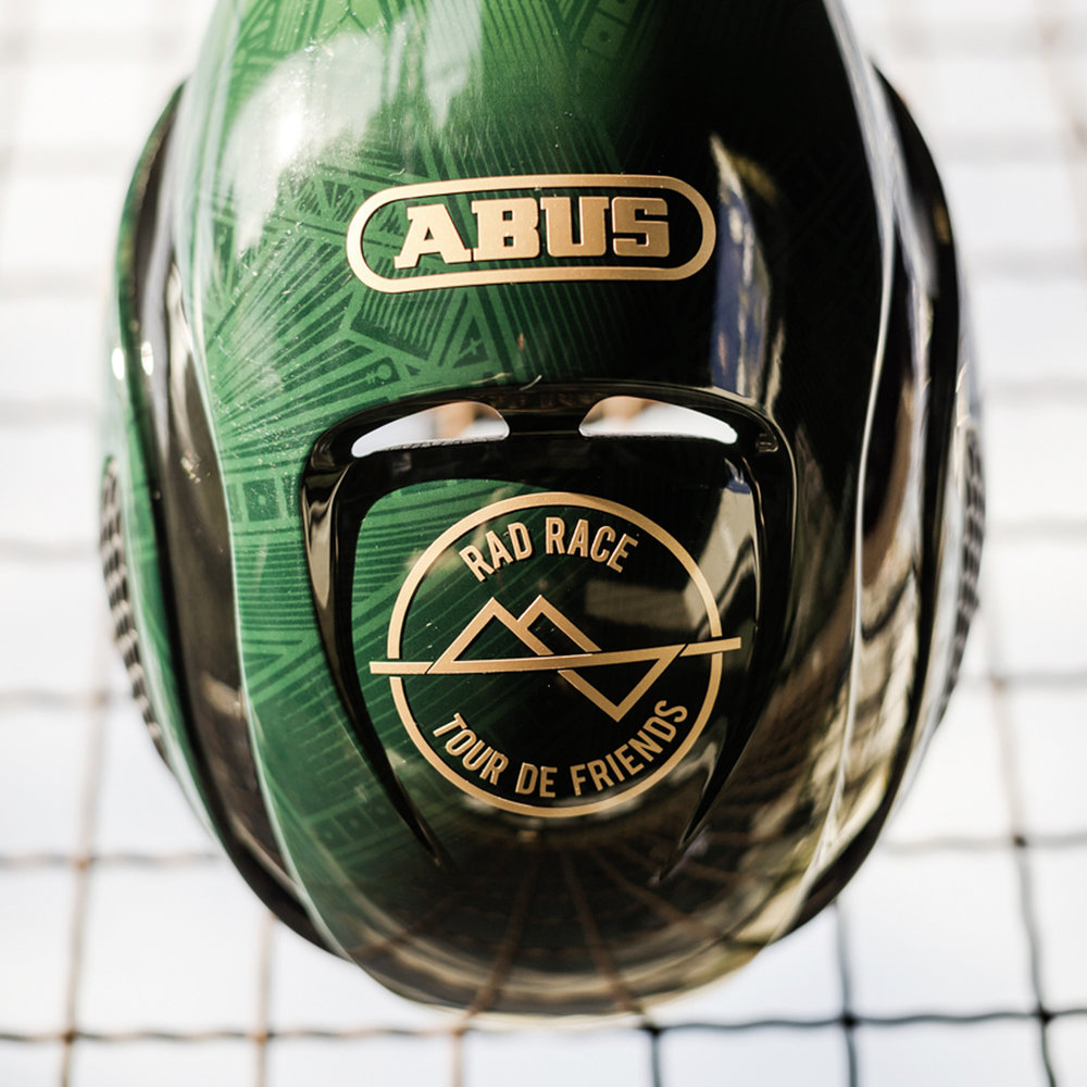 ABUS - GAMECHANGER HELM - RAD RACE TOUR DE FRIENDS 2018