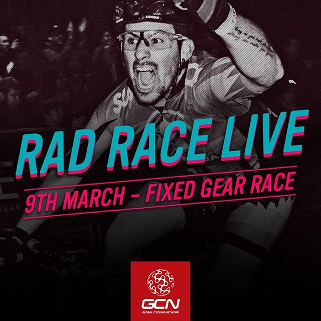 L*I*V*E on @globalcyclingnetwork this saturday from 9:45pm CET in a 5-camera live stream 👉 #radrace #lastmanstanding & #lastwomanstanding 👉 Link in bio to english stream 👉 Spanish - gcn.eu/radraceES 👉 Portuguese - gcn.eu/radracePT . .. ... .... ..... For the 6th time in #berlin in the official programm of @kolektif.bike.fair #radrace #lastmanstanding • The First event of the 2019 @germanfixedcritseries . .. ... .... ..... #fixedgear #Marzahn #eliminationrace #kolektifberlin #kolektifbikefair #fixedrace #fixed #trackbike #savethetrackbike #fixedcrit #fixedgearcrit #fxd #cycling #dropbarsnotbombs #lifebehindbars @kolektif.bike.fair #stopracismstartraceism #gcn #globalcyclingnetwork #fixie #germanfixedcritseries #fixedgearcrit