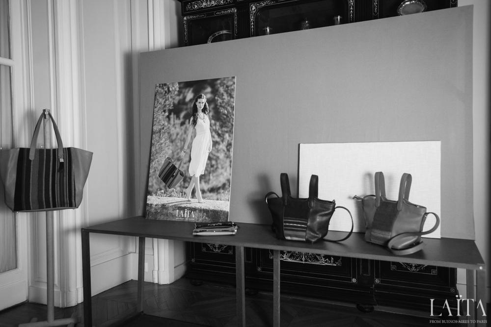 Laïta à l'Ambassade d'Argentine à Paris
