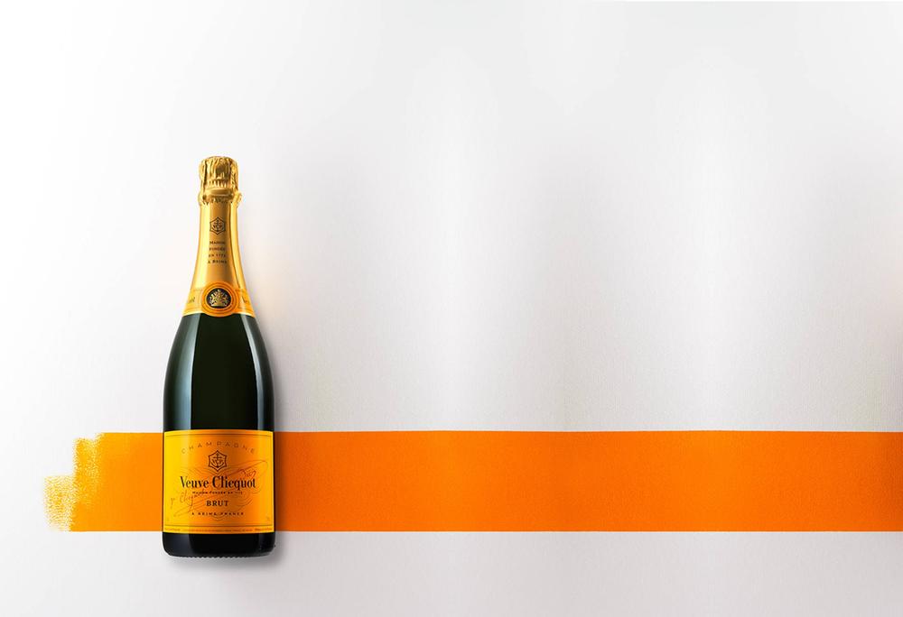 Champagne : Veuve Clicquot