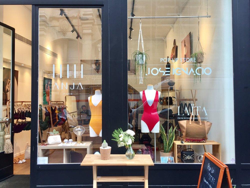 Le Pop up Store, au 36 rue Etienne Marcel ouvert tous les jours jusqu'au 3 aout !