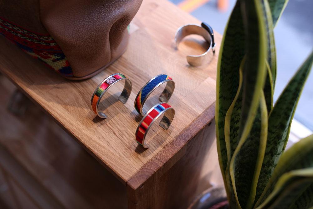 Bracelets au Pop up