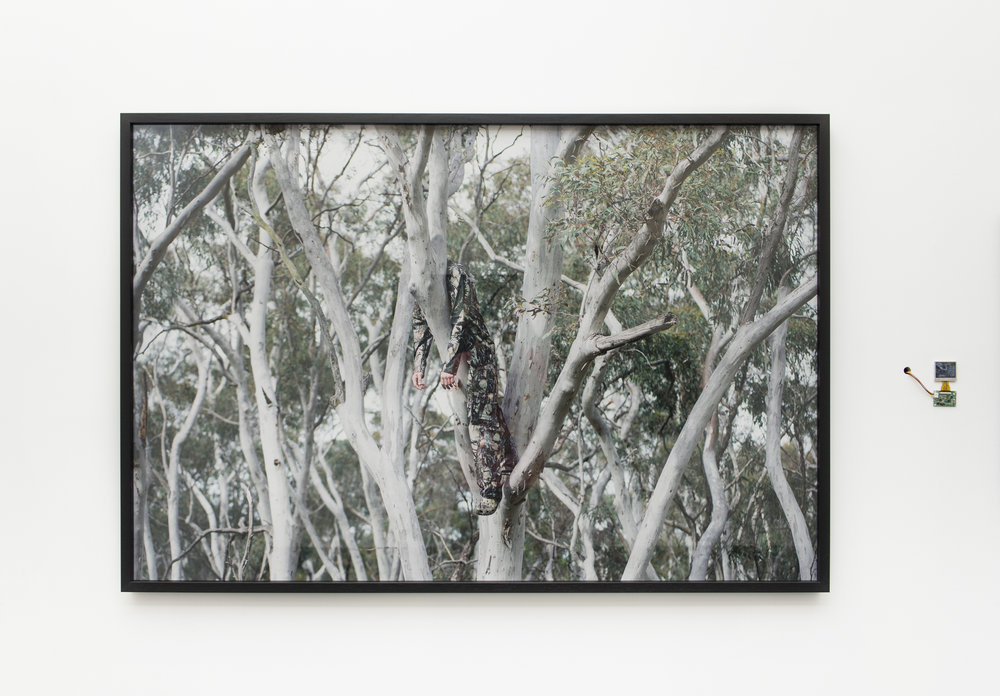 Left:  Moments of love and apathy #1 , pure pigment on cotton rag, 96 x 143 cm