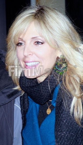 "January 25, 2011: Marla Maples visits ""WNYW Good Day New York"" at FOX studios wearing Rachel Brown necklace ""Certainty"""
