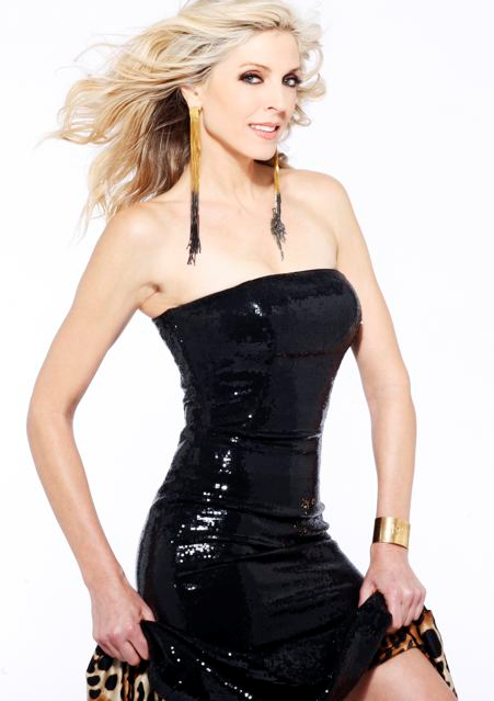 January 23, 2012: Marla Maples wearing brass cuff Protection Against Evil Eye