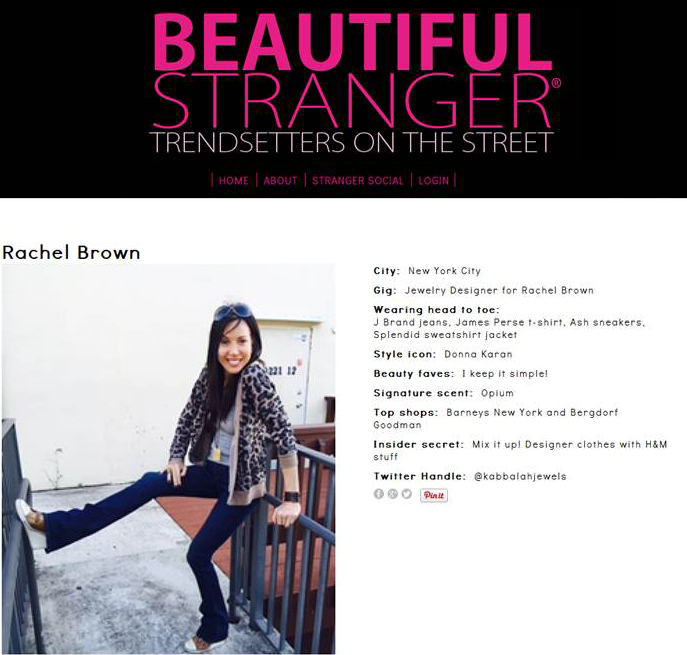 Beautiful Stranger TV Feature
