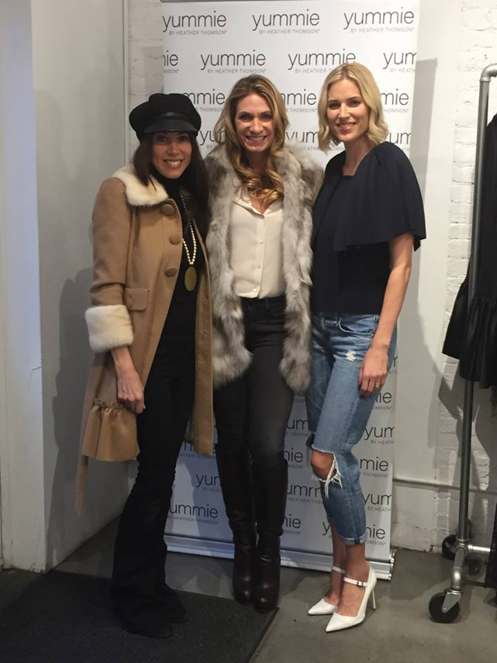 Rachel with Heather Thomson of RHONY