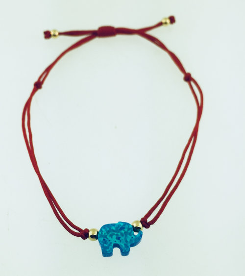 sterling silver jewelry bracelet fnj elephant fashion original wrap for garnet item new women