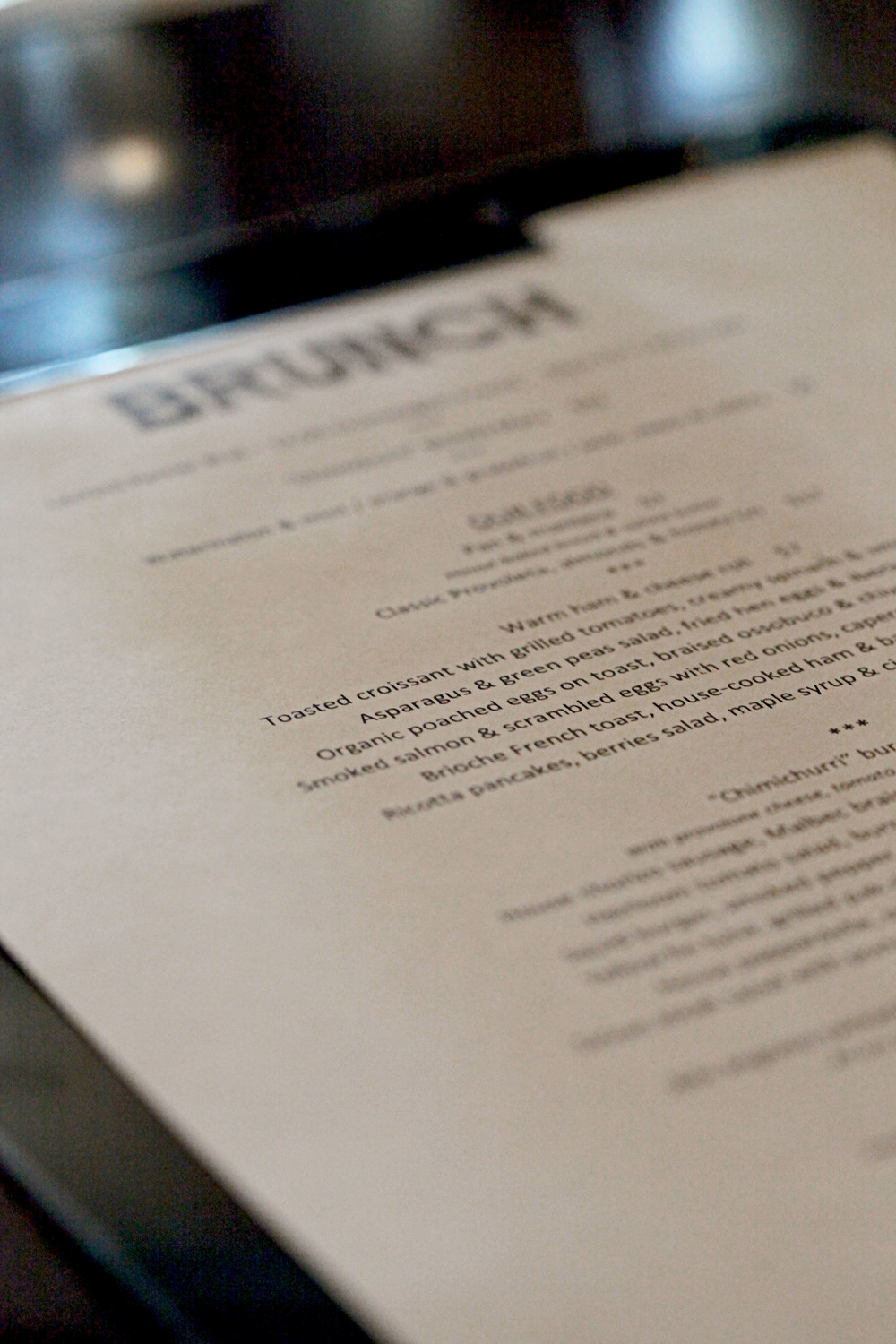 boCHINche's brunch menu