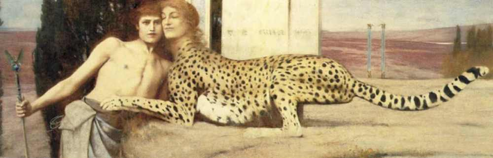 "Fig. 2: Fernand Khnopff,  The Sphinx,  or  The Caress ( Die Zärtlichkeit der Sphinx),   1896                                  Normal     0                     false     false     false         EN-US     JA     X-NONE                                                                                                                                                                                                                                                                                                                                                                                                                                                                                                                                                                                                                                                                                                                                    /* Style Definitions */ table.MsoNormalTable 	{mso-style-name:""Table Normal""; 	mso-tstyle-rowband-size:0; 	mso-tstyle-colband-size:0; 	mso-style-noshow:yes; 	mso-style-priority:99; 	mso-style-parent:""""; 	mso-padding-alt:0in 5.4pt 0in 5.4pt; 	mso-para-margin:0in; 	mso-para-margin-bottom:.0001pt; 	mso-pagination:widow-orphan; 	font-size:12.0pt; 	font-family:Cambria; 	mso-ascii-font-family:Cambria; 	mso-ascii-theme-font:minor-latin; 	mso-hansi-font-family:Cambria; 	mso-hansi-theme-font:minor-latin;}"